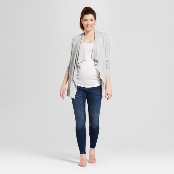 Isabel Maternity by Ingrid & Isabel Denim - ISABEL Maternity Inset Panel Jeggings Skinny Jeans